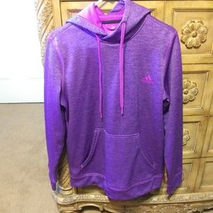 Adidas purple hoodie Womens Medium
